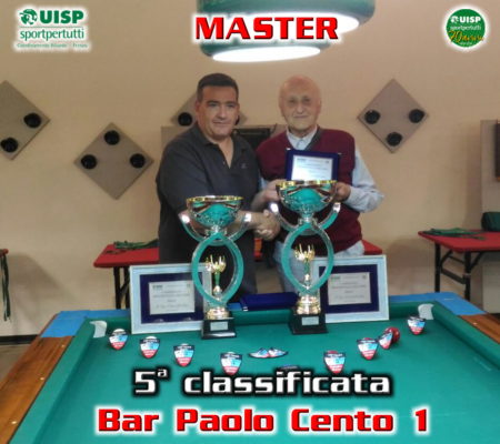 5^ classificata - Bar Paolo