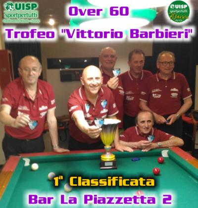 Campione Provinciale Over 60: LA PIAZZETTA 2