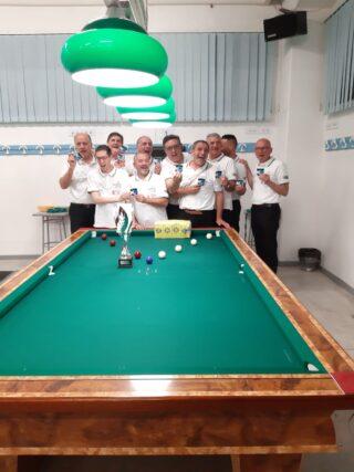 Risultato finale campionato provinciale a squadre di serie A2