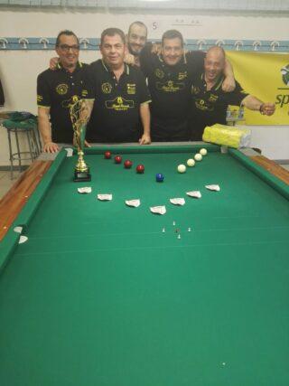 Risultato finale campionato provinciale A1 5 giocatori