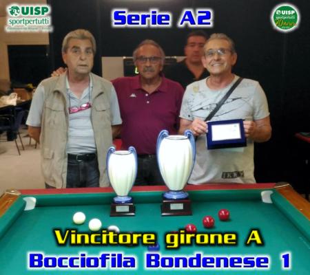 Vincitore Girone A - Bondenese
