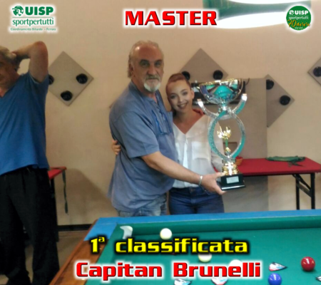 1^ classificata - Capitan Brunelli