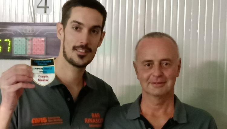 Marchetti-Stefani Campioni Provinciali Master 2020
