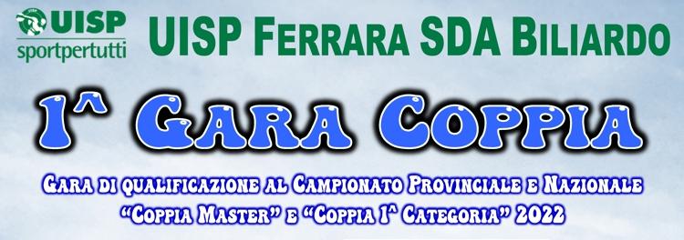 1^ Gara Provinciale Coppia