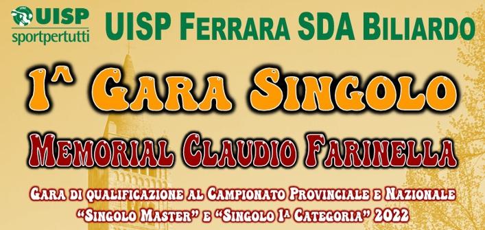 1^ Gara Singolo – Memorial Claudio Farinella