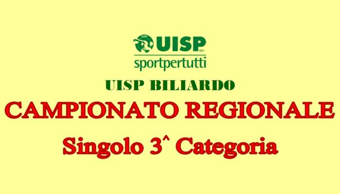 Campionato Regionale 3^ Categoria Singolo