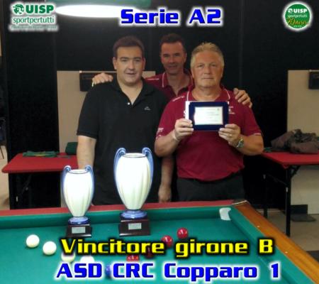 Vincitore Girone B - CRC Copparo