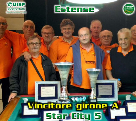 Vincitore girone A - Star City 5